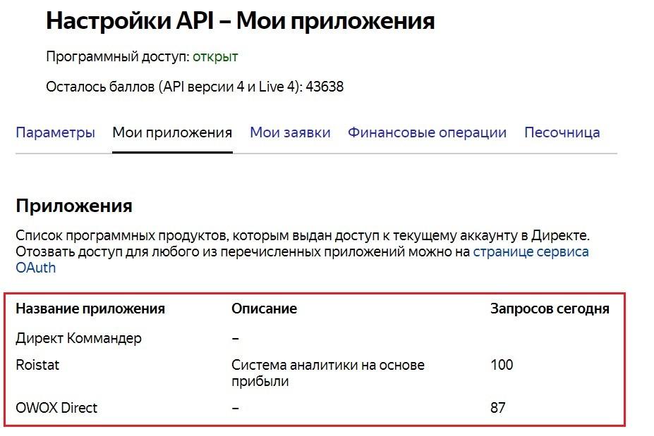 Управление кампаниями - API в Яндекс.Директ