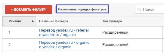 Facebook, ВКонтакте, Mail, Yandex и другие фильтры трафиков