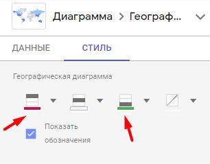 Наложение данных на карту в Google Data Studio