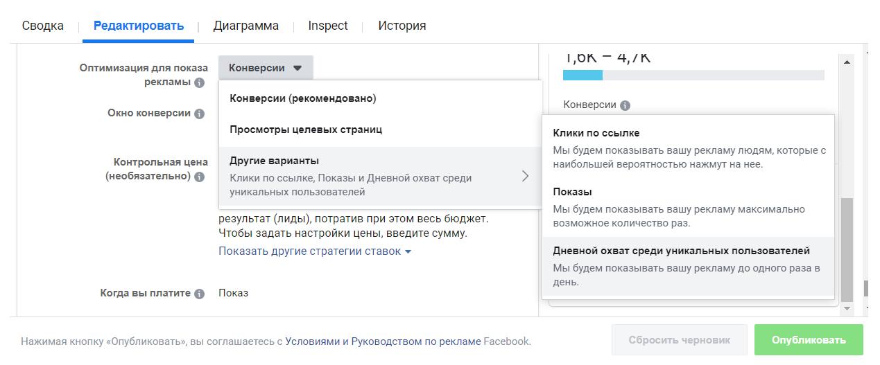 Эксперимент на 1000$ в Facebook