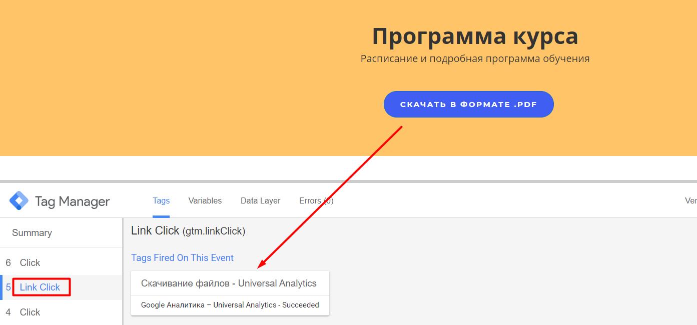 Отслеживание загрузки файлов в Яндекс.Метрике и Google Analytics