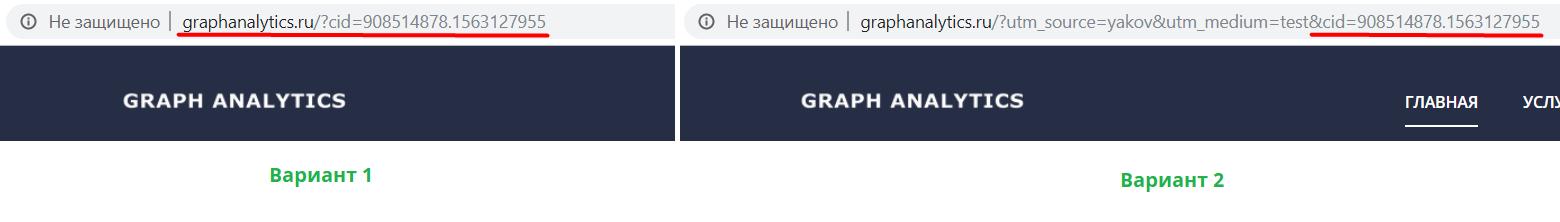 Передача GET-параметров в URL с помощью GTM
