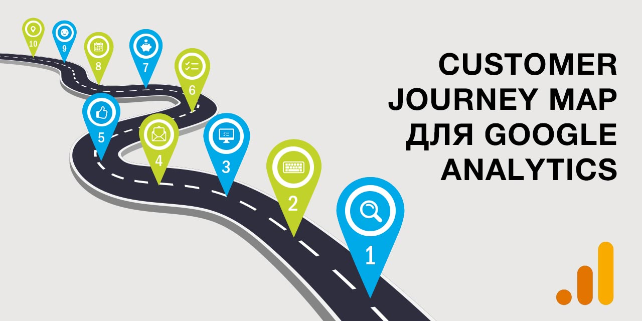 Customer Journey Map для Google Analytics