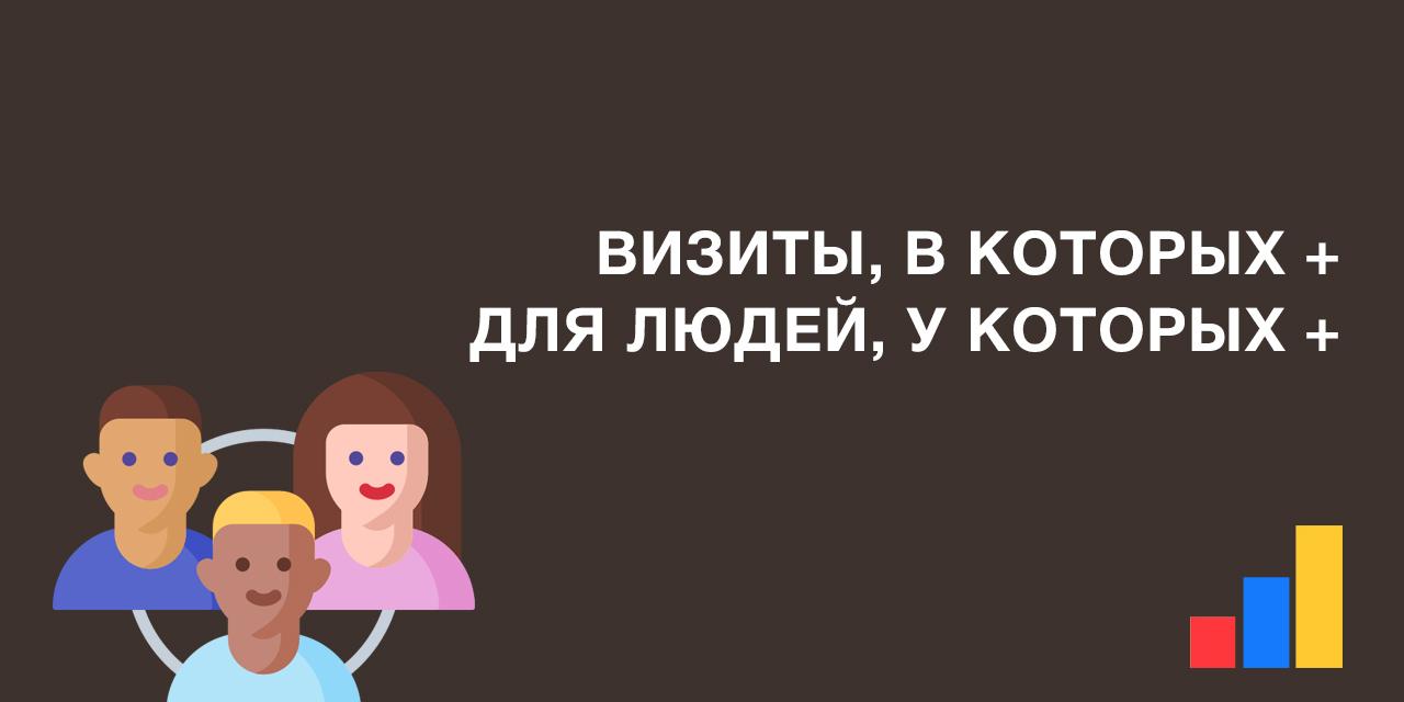 Визиты в которых, для людей у которых в Яндекс.Метрике